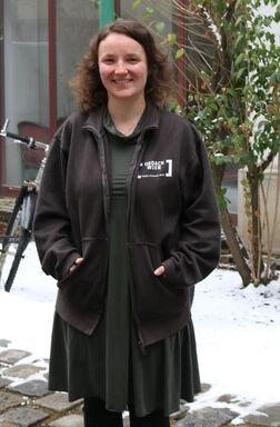 Anna Hollerer, Betreuerin.