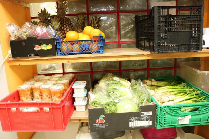 Das Lebensmittellager (Bild: FSW)