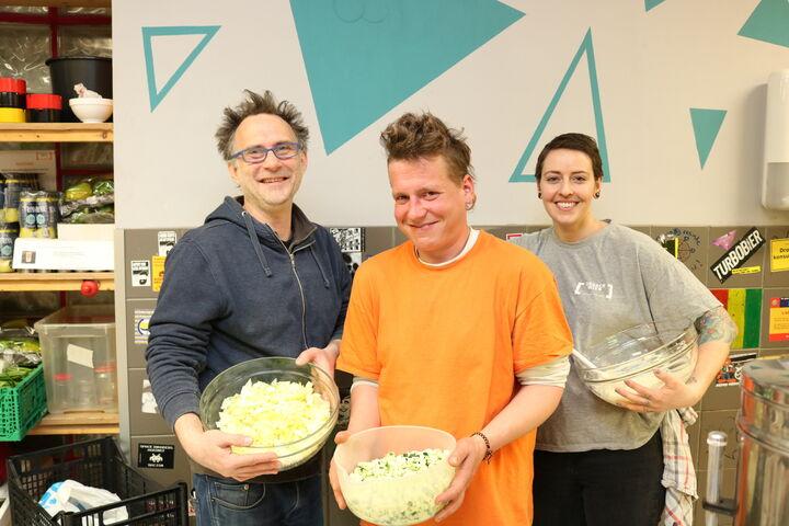 Das Kochteam des Tages (Bild: FSW)
