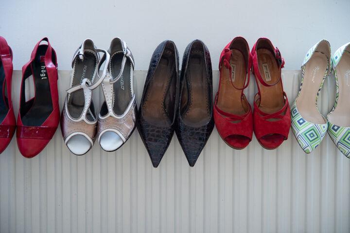 Schuhe, Schuhe, Schuhe. (Bild: Claudia Spieß e.U. Die Ablichterei)