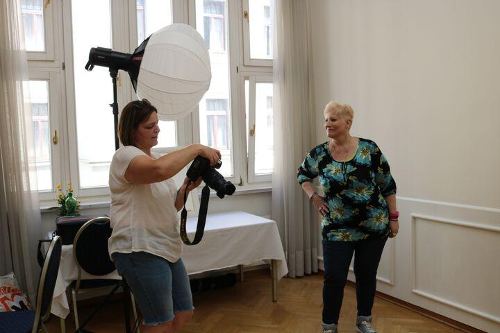 Das Nachher-Fotoshooting für Brigitte. (Bild: FSW)