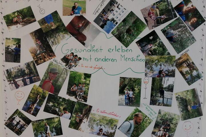 Das Plakat hält gemeinsame Erinnerungen fest. (Bild: FSW)