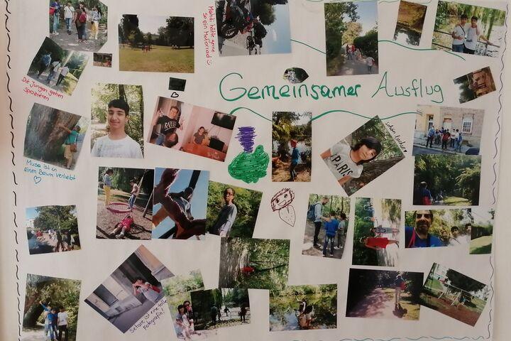 Am Plakat finden alle Interessierten Eindrücke des gemeinsamen Ausflugs. (Bild: FSW)