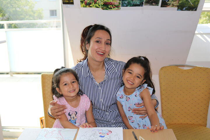 Auch Mamas begeistert von der Lernwoche (Bild: FSW)