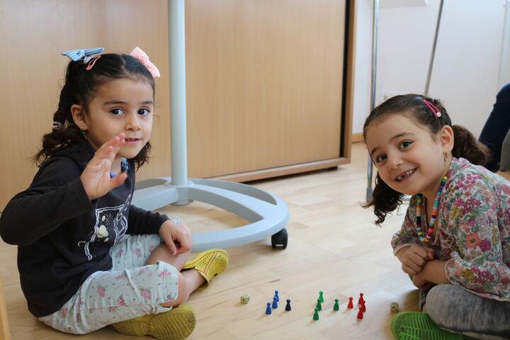Auch junge Geschwister genossen das Spielprogramm (Bild: FSW)