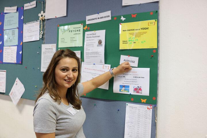Tanja S. widmet sich ihrer liebsten Tätigkeit, den Ausflügen. (Bild: FSW)