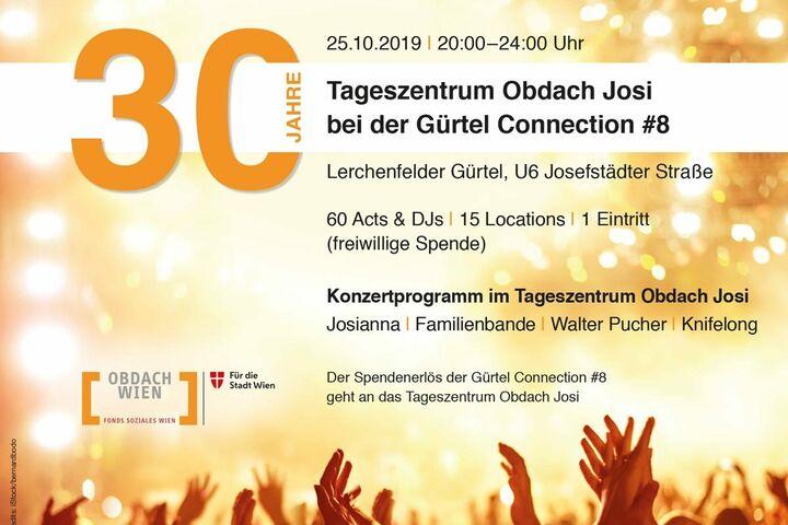 30 Jahre Tageszentrum Obdach Josi und Gürtel Connection (Bild: FSW)