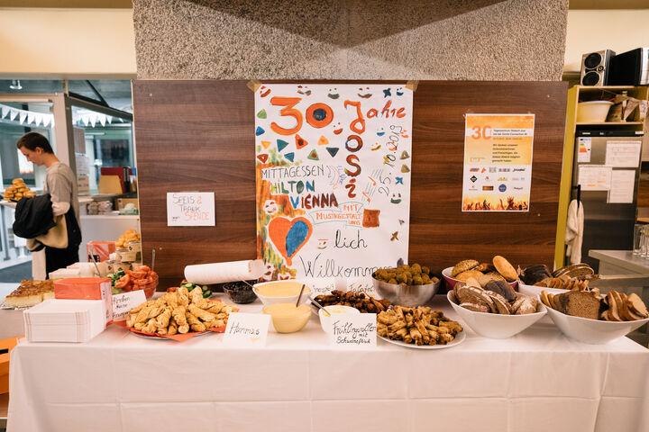Jedes Fest braucht ein Buffet. (Bild: Thomas Meyer Photography)