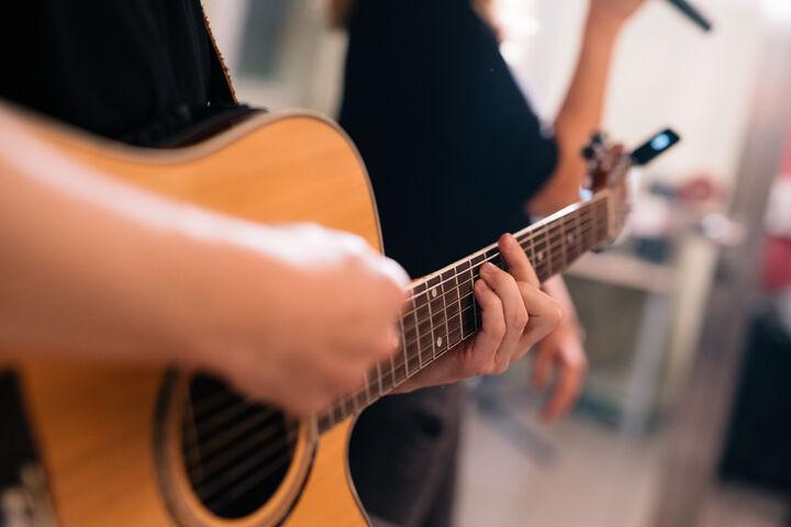 Akustische Klänge gab es auch. (Bild: Thomas Meyer Photography)