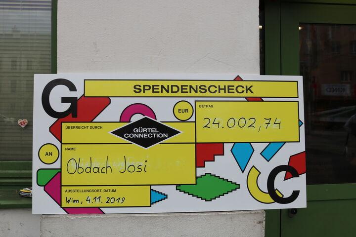 24.002,74 Euro kamen zusammen. (Bild: FSW)