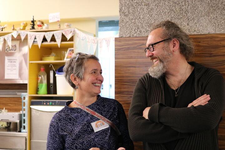 Die Josi-Teamleitungen Nora Kobermann und Walter Pucher zeigten sich sichtlich zufrieden mit dem Fest.