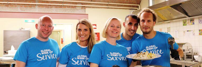 Unternehmen helfen Obdach Wien in vielfältiger Weise