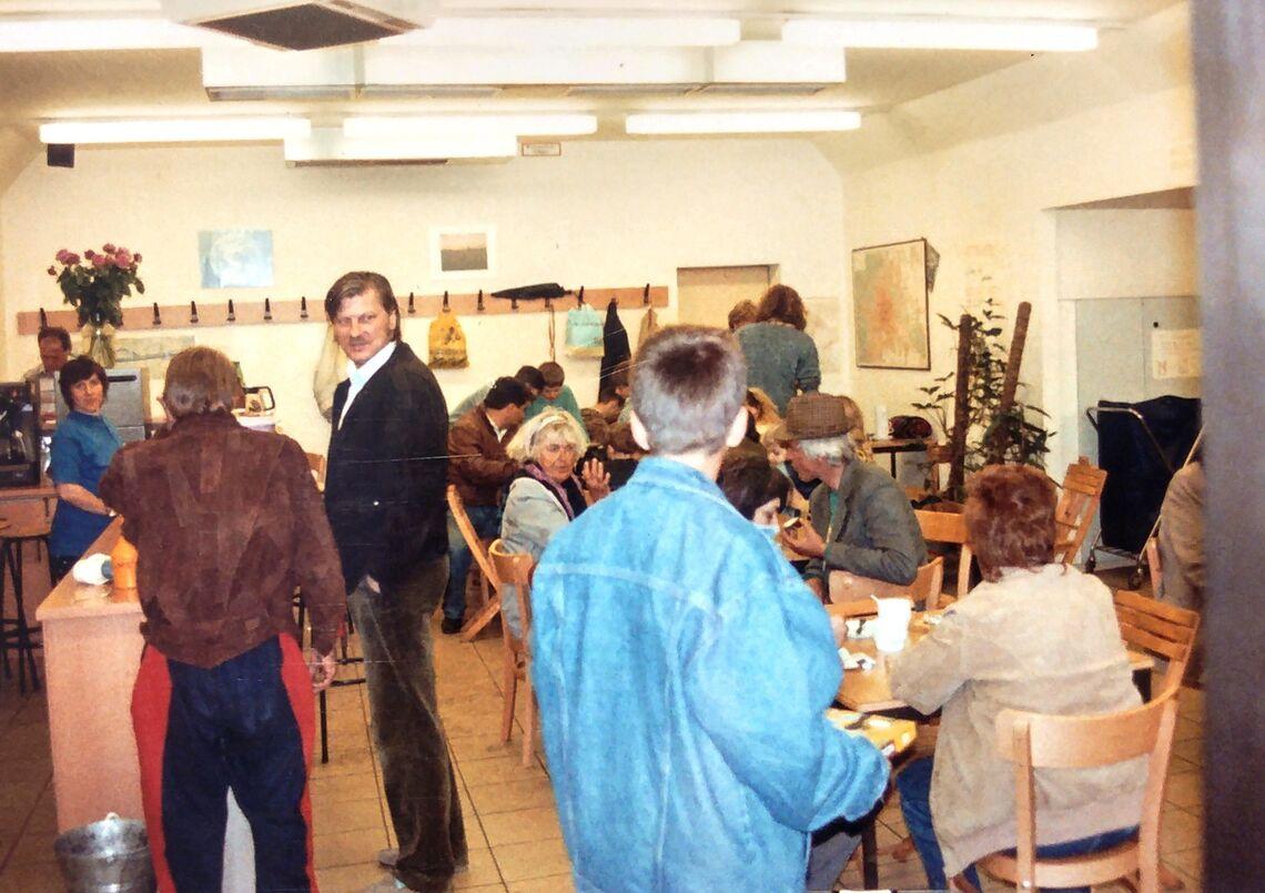 Das Tageszentrum Obdach Josi in seinen Anfängen. (Bild: FSW)