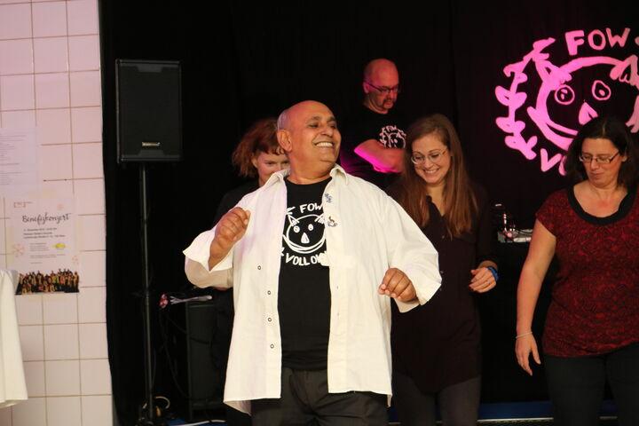 Der Salsa-Workshop war ein voller Erfolg. (Bild: FSW)