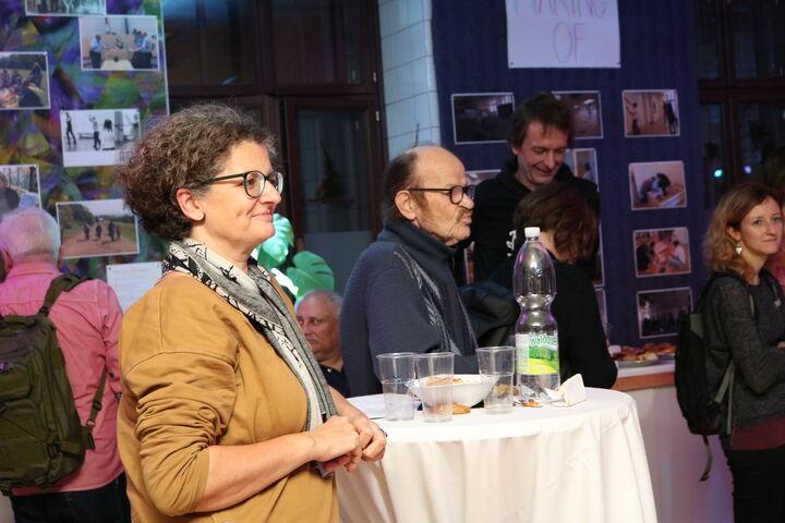 Geschäftsführerin Monika Wintersberger-Montorio genoss das Programm. (Bild: FSW)