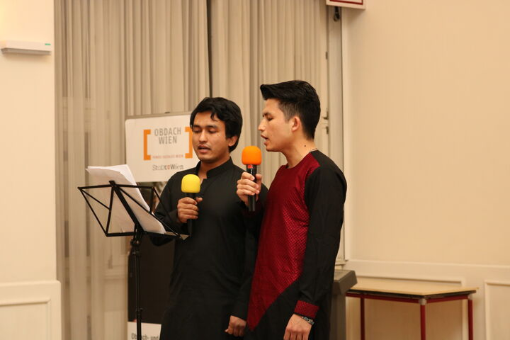 """""""Mein Land"""" sangen die Brüder Ghaffar und Rohulla. (Bild: FSW)"""