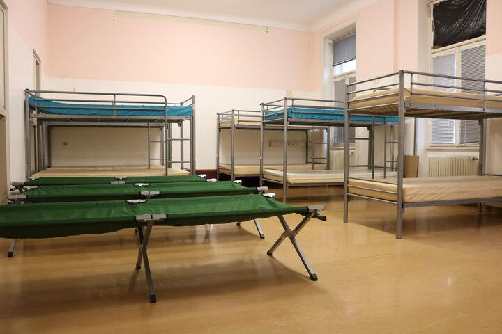 Der Ruheraum bietet Ruckzugsraum, Wärme und vor allem Ruhe zum Schlafen. (Bild: FSW)