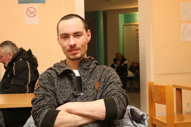 Petr kommt seit einer Woche täglich in die Wärmestube Obdach Apollogasse. (Bild: FSW)