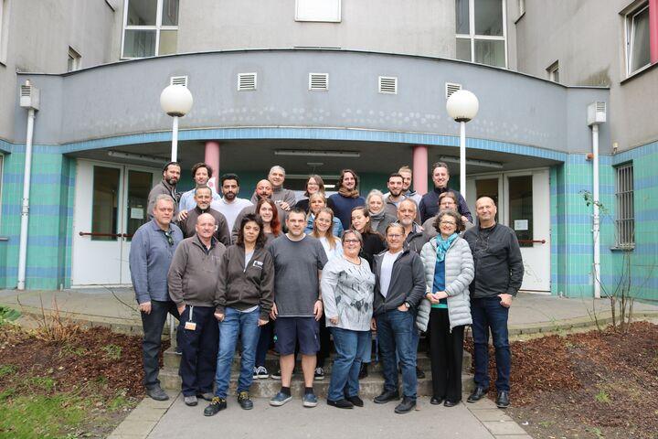 Das Team des Obdach Gänsbachergasse. (Bild: FSW)