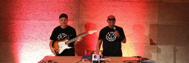 Zwei der KünstlerInnen von Sounds of Home (Bild: FSW)