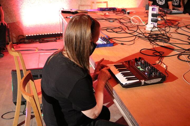 Frau Amer in Aktion. (Bild: FSW)