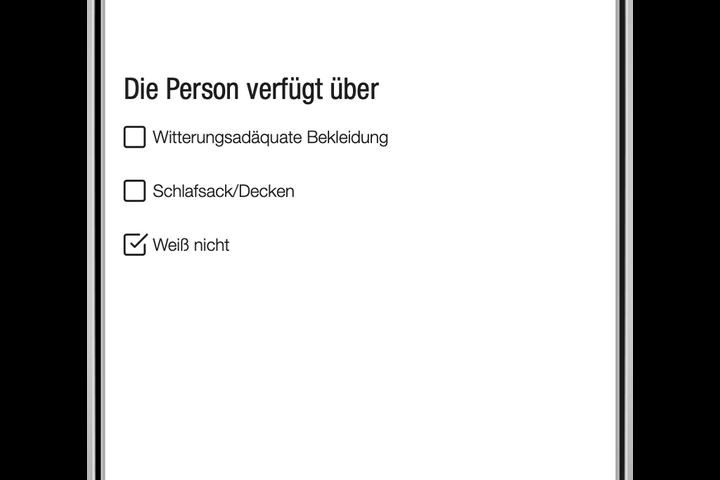Schritt 3: In welchem Zustand ist die Person? (Bild: FSW)