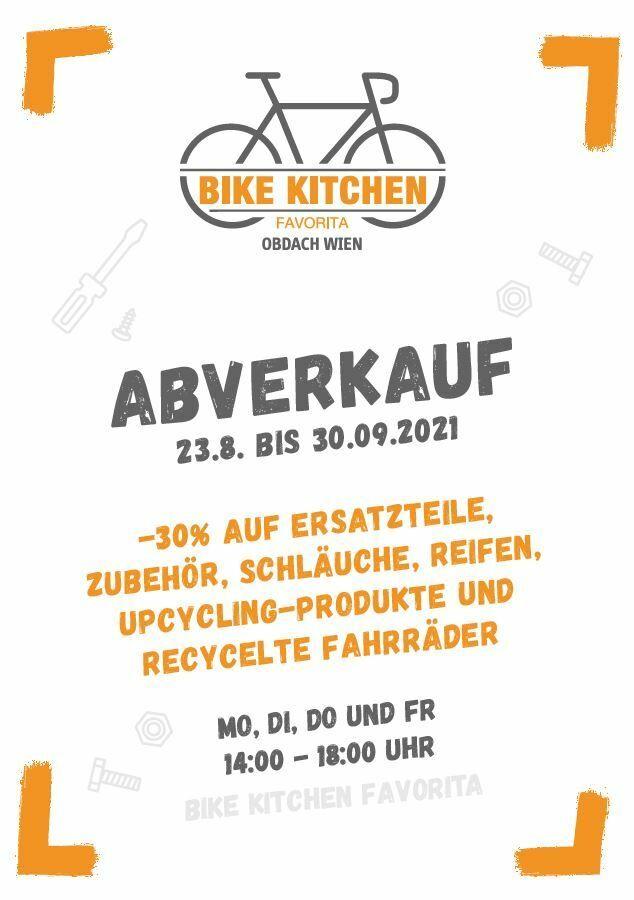 Abverkauf In Der Bike Kitchen Favorita