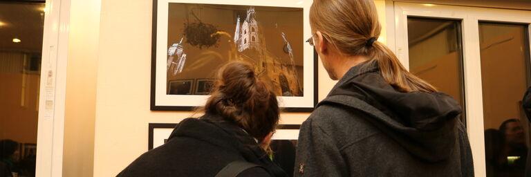 Die Fotos von Nina Strasser weckten großes Interesse. (Bild: FSW)