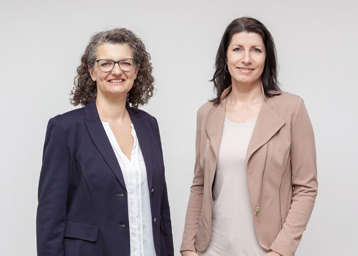 Geschäftsführerin Monika Wintersberger-Montorio und Geschäftsführerin Doris Czamay (Bild: FSW)