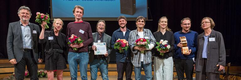 Verleihung der Sozialmarie (Bild: Maximilian Rosenberger, SozialMarie 2018, Unruhe Privatstiftung)