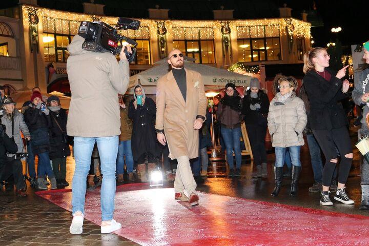 Das Medieninteresse an der ungewöhnlichen Modenschau war groß. (Bild: FSW)