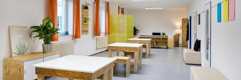 Wiener Wohnzimmer im Obdach Wurlitzergasse (Bild: Hilzensauer)