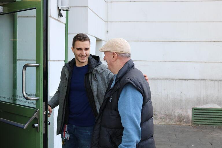 Zivildienst bei Obdach Wien (Bild: FSW)