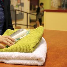 Obdach Ester bietet Möglichkeiten zur Körperpflege und sicheren Raum für Frauen (Bild: FSW)
