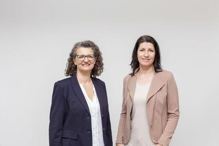 Monika Wintersberger-Montorio und Doris Czamay (Bild: FSW)