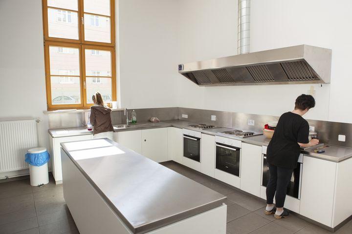 Obdach Kastanienallee Küche (Bild: FSW)