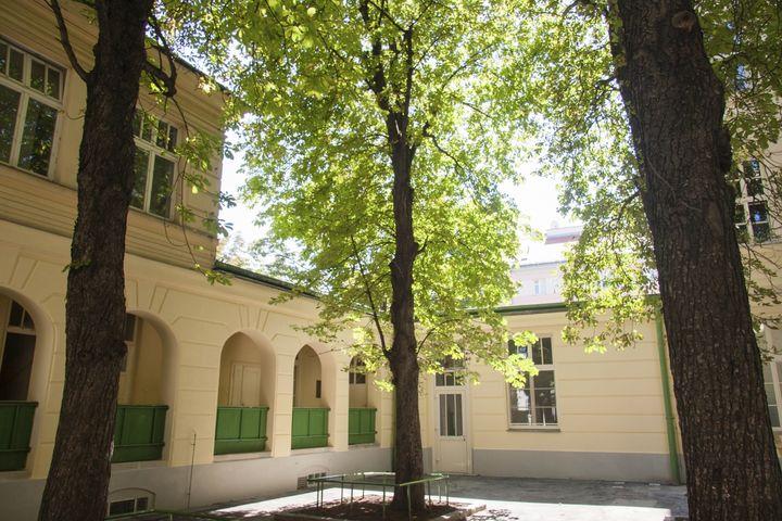 Obdach Kastanienallee Hof (Bild: FSW)