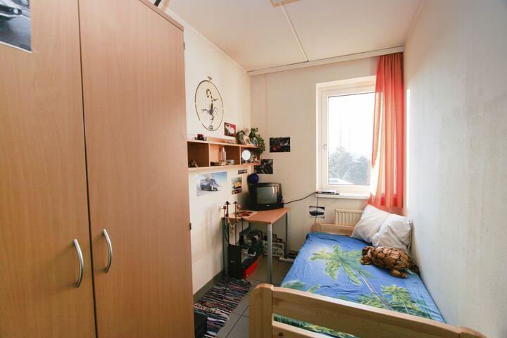 Obdach Gänsbachergasse Einzelzimmer (Bild: FSW)