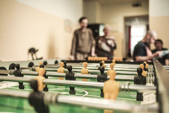 Obdach Leo Fußballtisch (Bild: FSW)