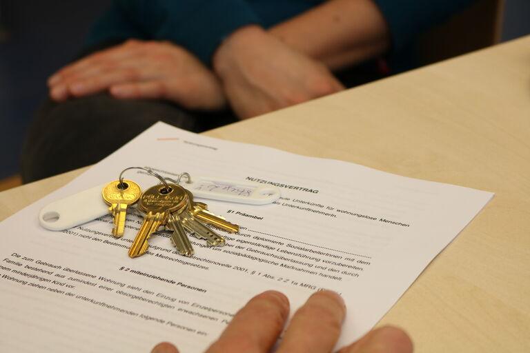 Obdach Wien Nutzungsvertrag (Bild: FSW)