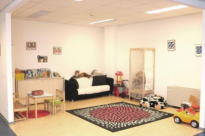 Obdach wohnmobil Spielecke (Bild: FSW)