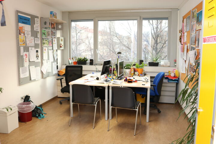 Obdach Arndtstraße Büro (Bild: FSW)